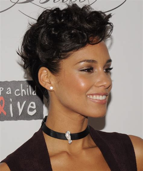 alicia keys hair picture 17