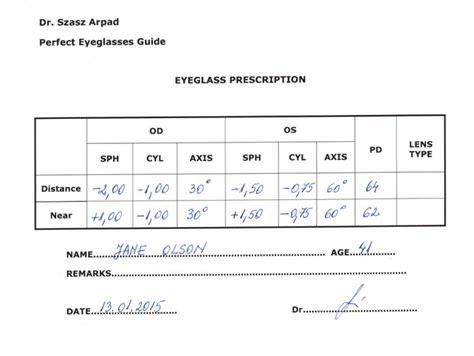 eye prescription picture 1