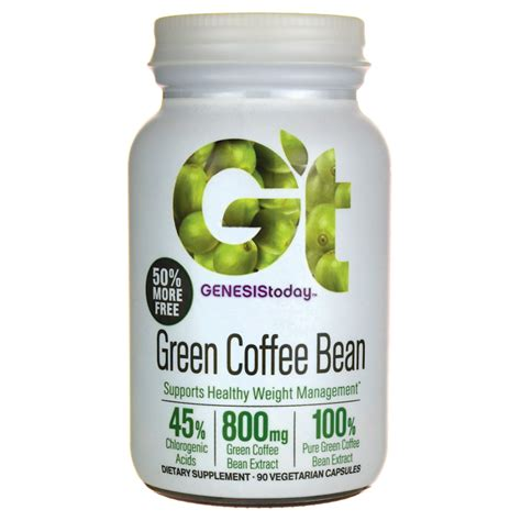 pure green coffee bean genesis picture 9