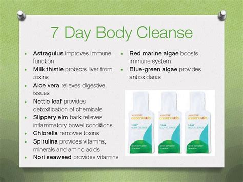arbonne 7 day cleanse instructions 2014 picture 1