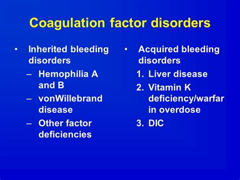 clotting factors in chronic liver disease picture 9