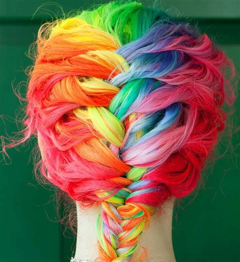 crazy colored hair picture 1