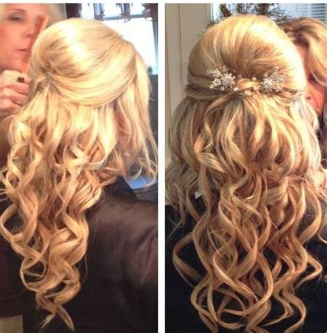curly prom hair picture 1