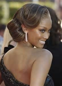 smooth sleek sexy glam prom hair picture 5
