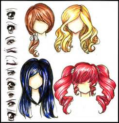 anime hair color picture 14