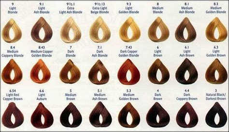bremod hair color chart picture 9