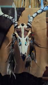 native american deer skull mounts picture 1