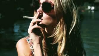 woman in cloud of cigarette smoke picture 11