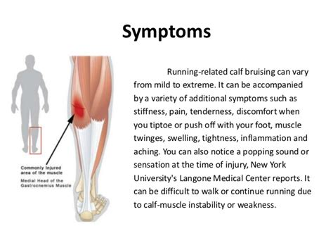 calf muscle strain with popping noise picture 1