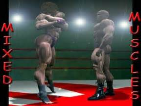 muscle women fight picture 3