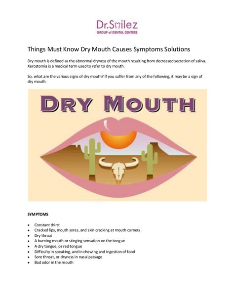 what deficiencys cause a dry mouth and lips picture 15
