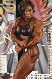muscular female bodybuilder ing two guys picture 14