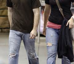 visual penis line in jeans picture 5