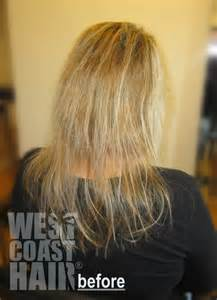 flat hair weave technique picture 7