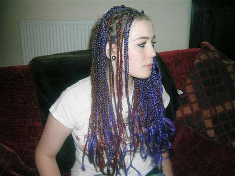 cork hair extensions for braids picture 3