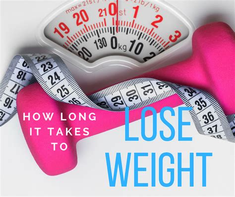 how long will it take to lose weight picture 1