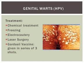 treatment genital warts hard on liver picture 1