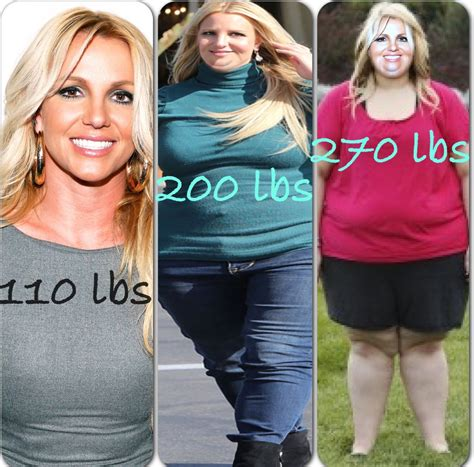 britney spears weight gain picture 1