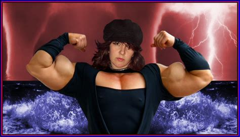 female super muscle morph picture 7