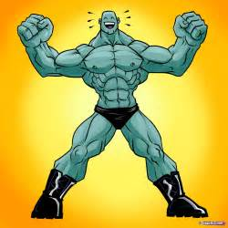 cartoon muscle picture 14
