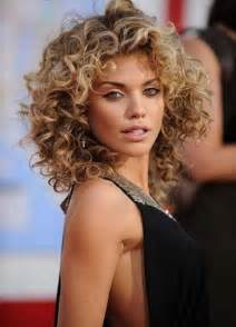 curly short hair styles picture 2