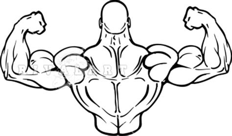 free muscle man clipart picture 19