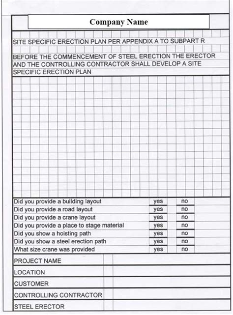 steel erection construction tools box meeting forms picture 1