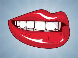 cartoon lips picture 13