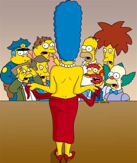 marge simpson extreme breast growth picture 2