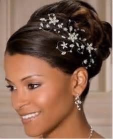 black hair wedding style picture 5