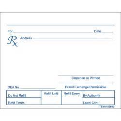 prescription pads picture 14