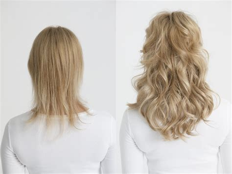 clip in hair extensions appling picture 6