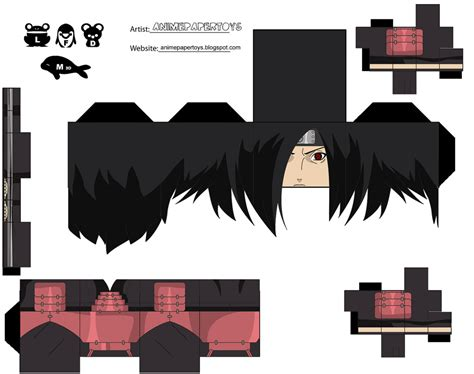 anime paper toys naruto picture 2