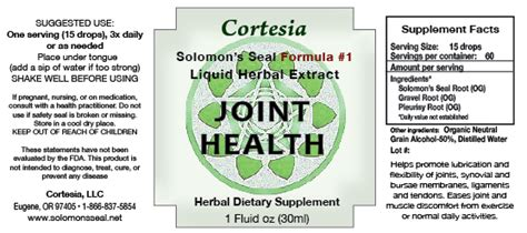 solomons seal joint health picture 1