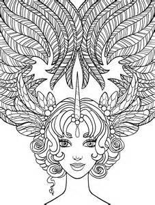 coloring pages on hair picture 15
