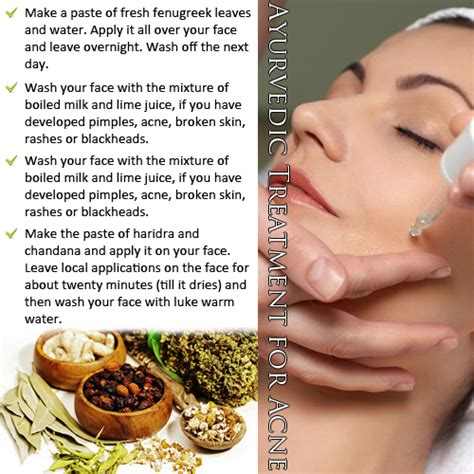 Aryvedic healing of acne picture 1