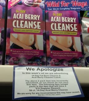 acai berry cleanse at walgreens picture 10