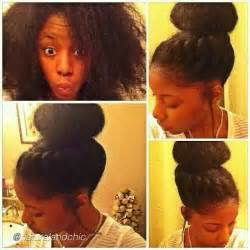 african american hair buns picture 17