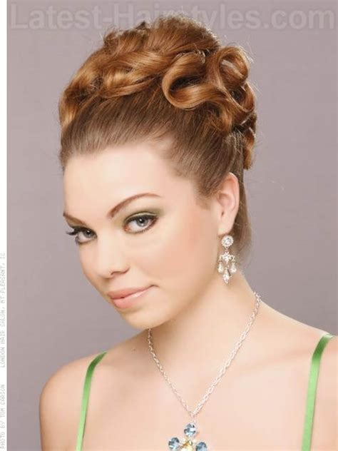sleek and sexy prom hair styles picture 4