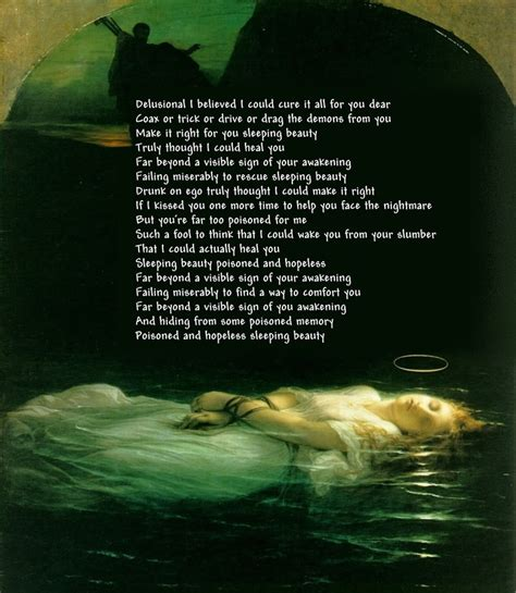 perfect cirlce sleeping lyrics picture 2