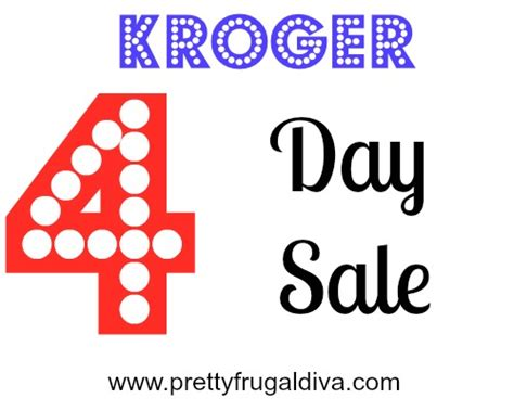 kroger 4 day sale 2015 picture 2