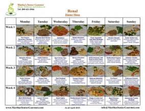 menus diabetic renal diets picture 1