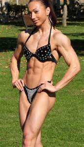 how much muscle can a woman without steroids picture 6