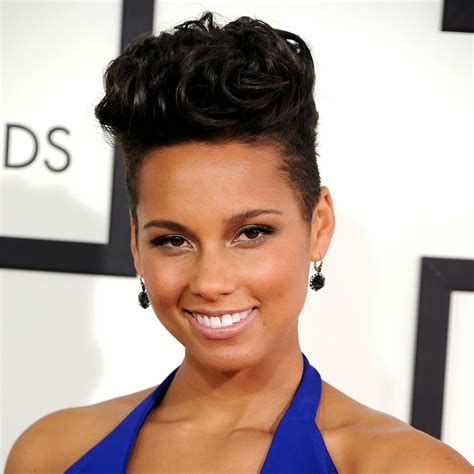 alicia keys hair picture 9