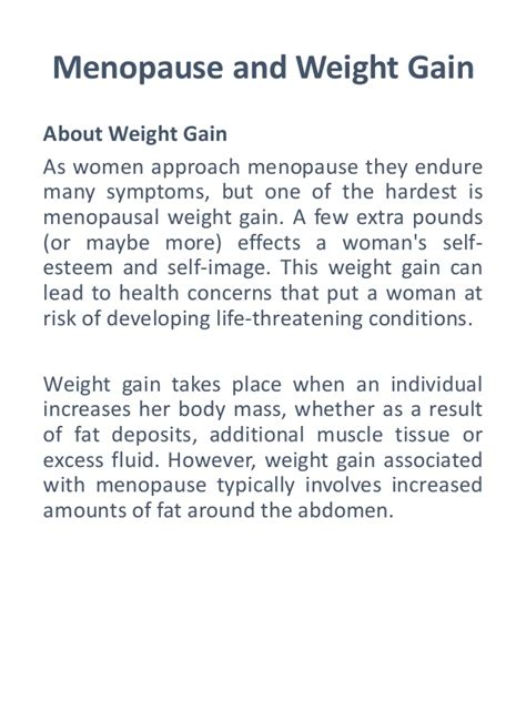 menopause and weight gain picture 6