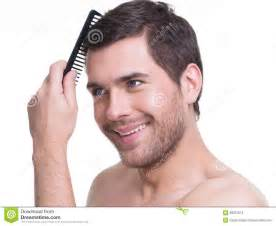 combing hair picture 6