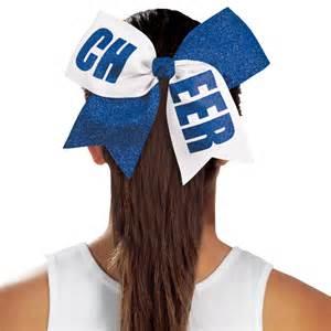 cheerleading hair ribbon picture 7
