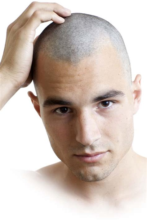 buzzed thin hair picture 10