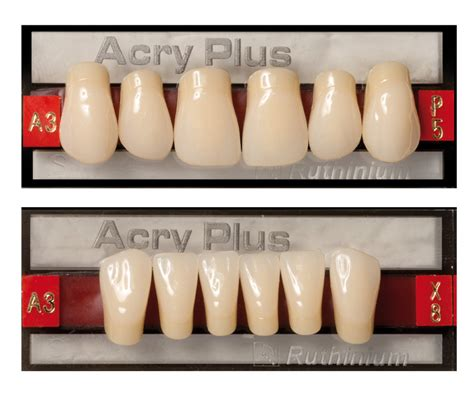 acrylic characterized teeth picture 7