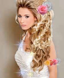 Bridal party hair do's picture 6